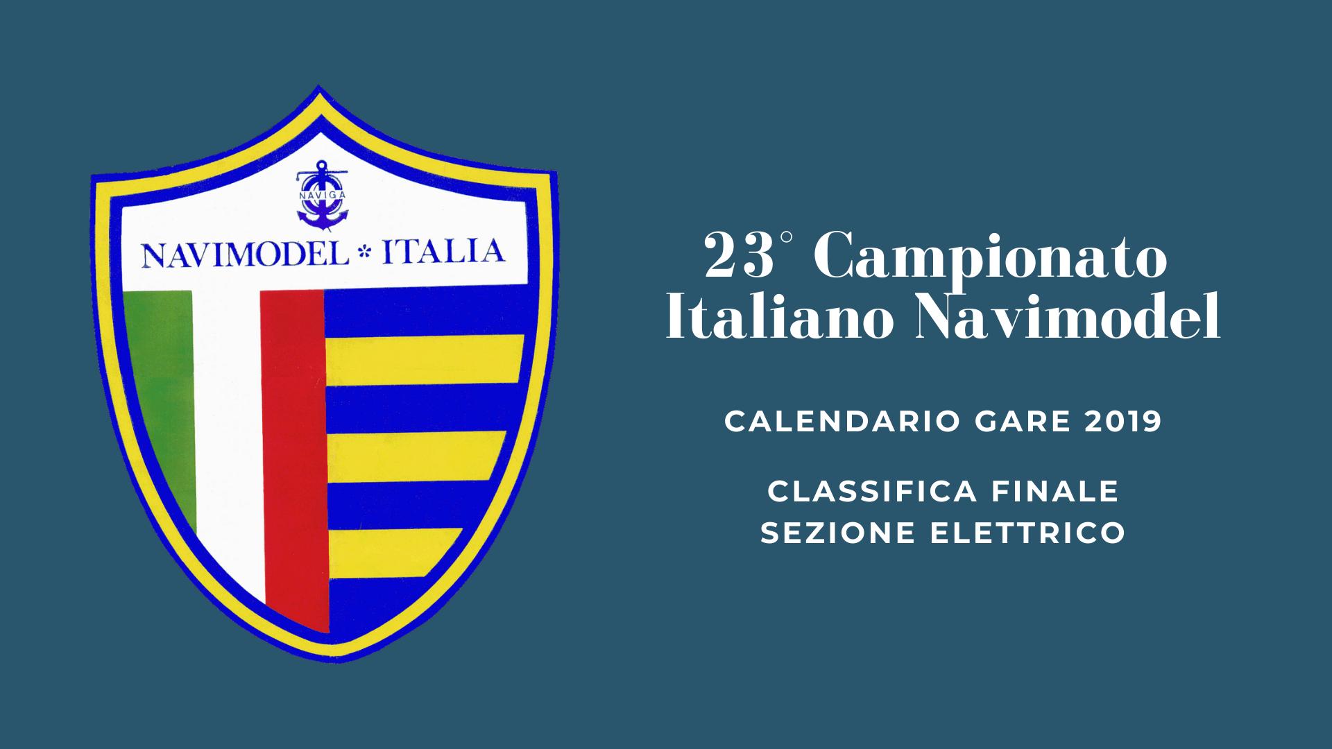 23° Campionato Italiano Navimodel