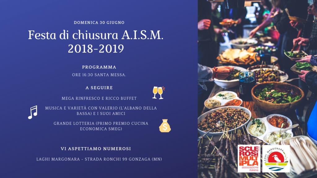 Festa di chiusura AISM 1