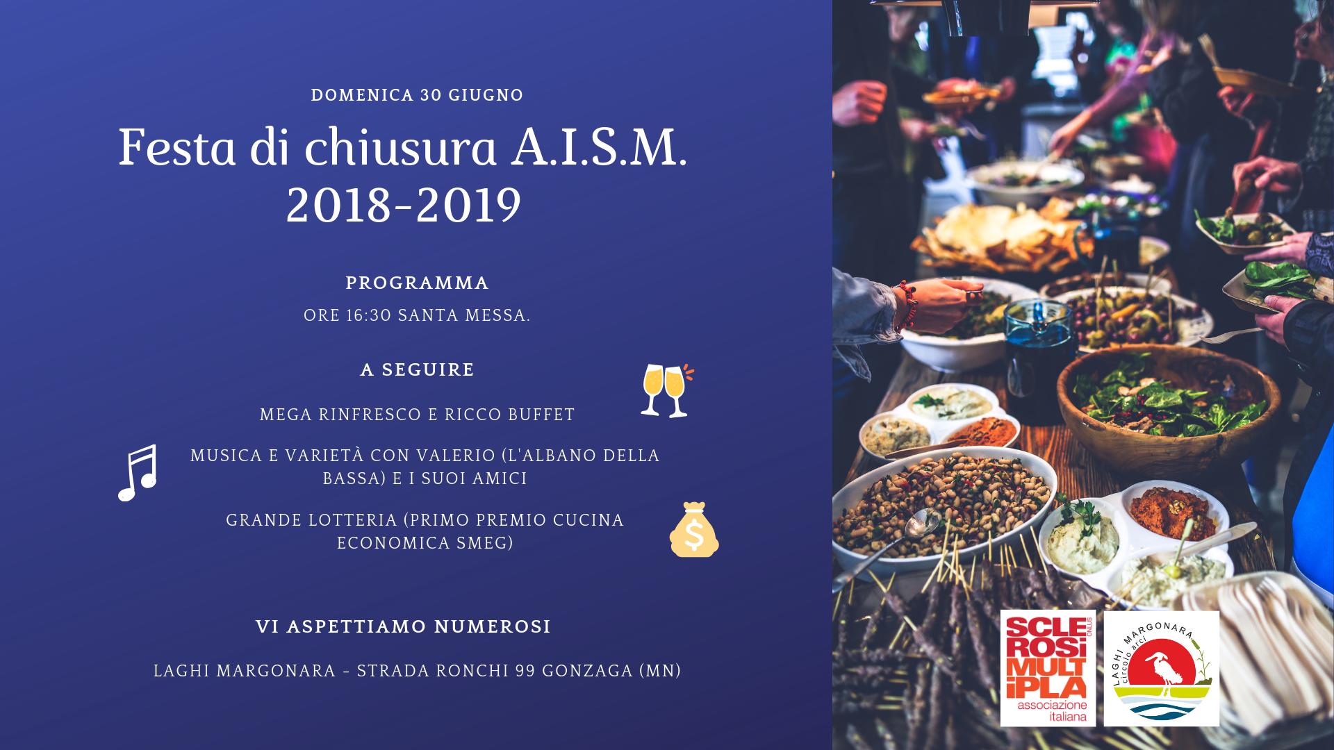 Festa di chiusura AISM