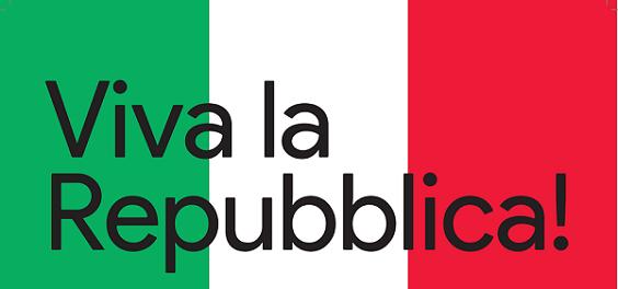 Viva la Repubblica
