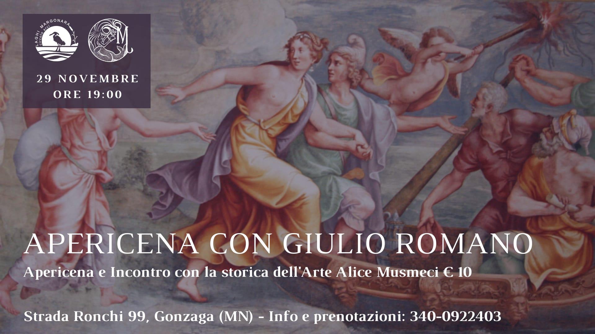 Apericena con Giulio Romano