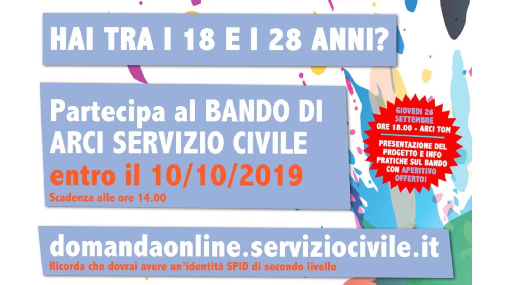 Arci servizio civile 2020