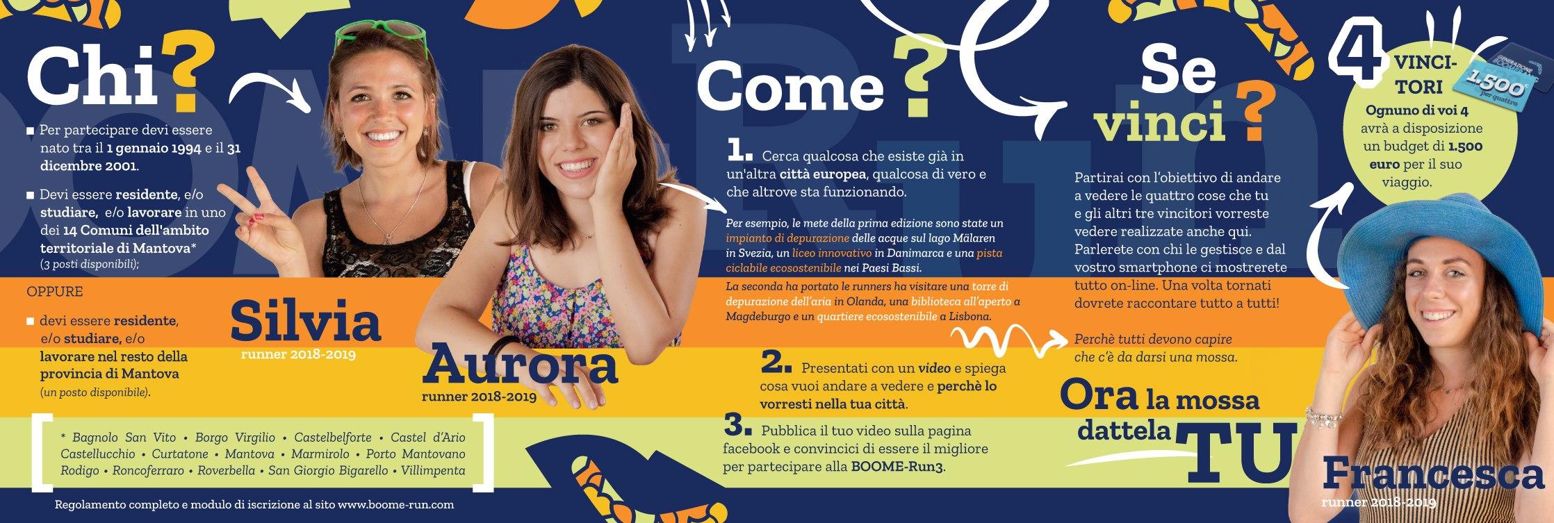Boome-run 3: vinci un viaggio in Europa