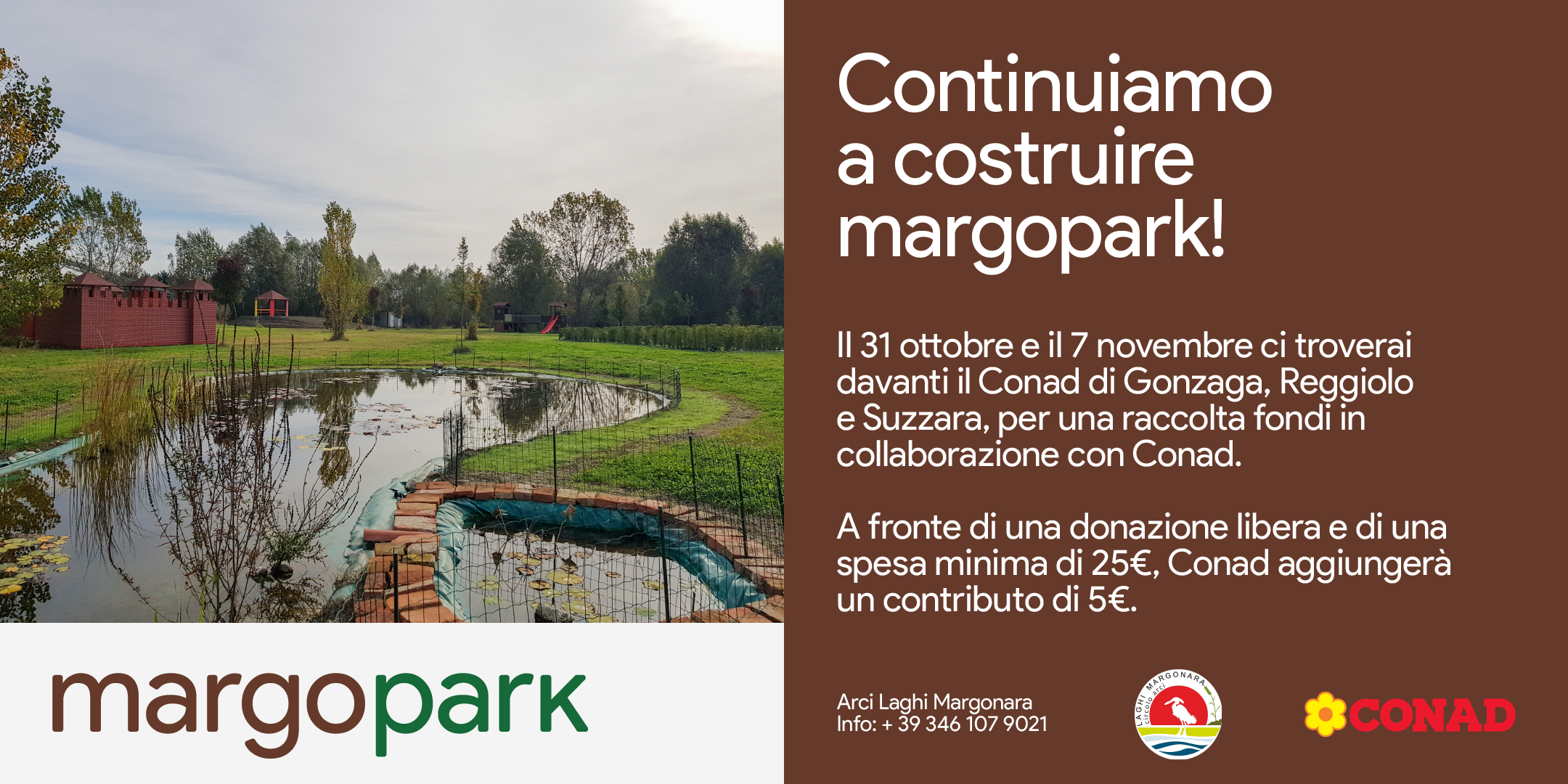 You are currently viewing Continuiamo a costruire Margopark!